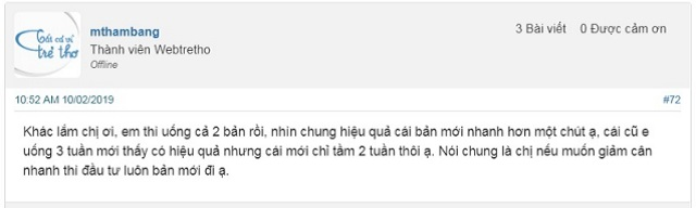 Review ve thuoc giam can bona